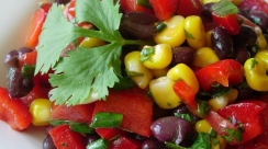 Black Bean and Rotel Salad